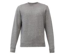 Crew-neck Cotton-jersey Sweatshirt