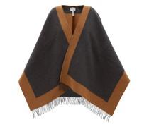 Tasselled Wool Cape