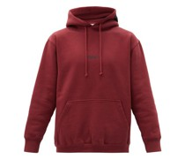 Logo-print Cotton-blend Hooded Sweatshirt