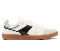 Gum Sole Suede & Leather Trainers