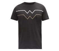 Avino Wave-stripe Technical Jersey T-shirt
