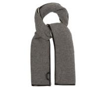 Coated-trim Wool-blend Scarf