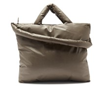 Baby Padded Cotton-blend Canvas Tote Bag