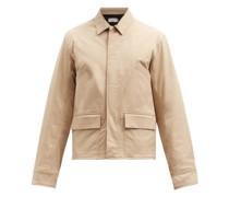 Patch Pocket Cotton-twill Jacket