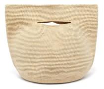 Bowl Crocheted-cotton Handbag