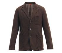 Torcea Single-breasted Wool-blend Jersey Blazer
