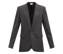 Harlow Pressed-wool Single-breasted Jacket