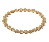 Liz Diamond & 14kt Gold Tennis Bracelet