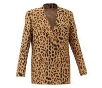 Simba Everynight Double-breasted Silk Blazer