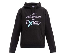 Extasy Printed Cotton-jersey Hooded Sweatshirt