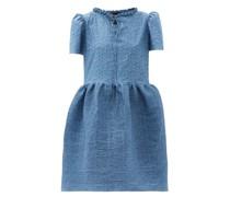 Valerie Pintucked Cotton Dress