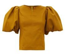 Marianne Puff-sleeve Cotton Top