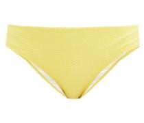 Cancun Honeycomb-effect Bikini Briefs