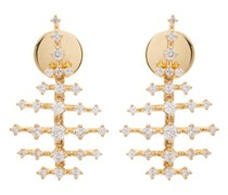Mini Disco 18kt Gold & Diamond Earrings