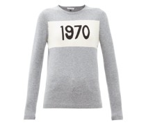 1970-intarsia Cashmere Sweater