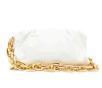 The Pouch Medium Chain-strap Leather Clutch