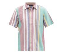 Striped Cotton-oxford Shirt