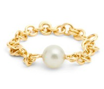 Pearl & 18kt Gold Ring