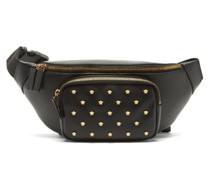Logo-plaque Leather Belt Bag