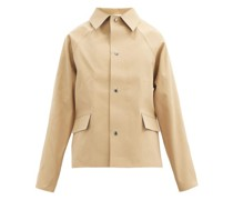 Gabardine Short Trench Coat