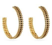 Coco Crystal-embellished Hoop Earrings