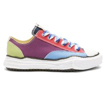 Peterson Irregular-sole Cotton-canvas Trainers