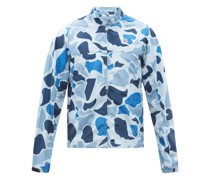Astro-patch Camouflage-print Shell Jacket