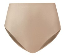 Bound High-rise Metallic Bikini Briefs