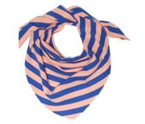 No.201 Striped Stretch-cashmere Scarf