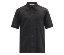 Suneheim Crinkled-poplin Shirt