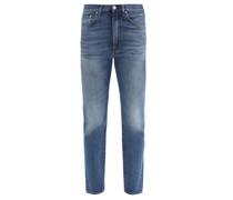 Studio Cropped Straight-leg Jeans