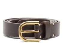Slim Bridle-leather Belt