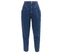 Padeloisasr High-rise Tapered-leg Jeans