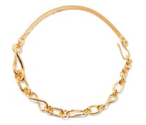 Gold-plated Sterling-silver Chain Necklace