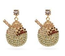 Gelateria Mismatched Crystal Drop Earrings