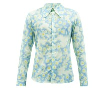Matthew Floral-print Cotton Shirt