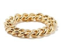 Diamond & 18kt Gold Jumbo-link Chain Bracelet