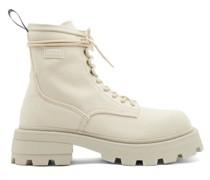 Michigan Canvas Combat Boots