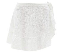 The Corey Crocheted-lace Pareo Skirt