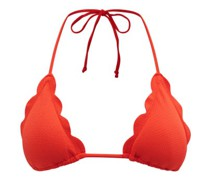 Broadway Scalloped-edge Triangle Bikini Top