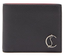Coolcard Monogram-plaque Leather Bi-fold Wallet
