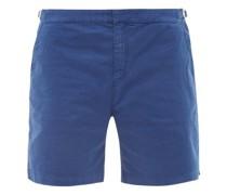 Dane Cotton-blend Twill Shorts