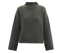 No.163 Ken Stretch Cashmere Sweater
