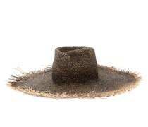 Big Nana Frayed Straw Hat
