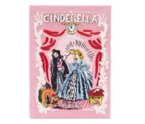 Cinderella Embroidered Book Clutch Bag