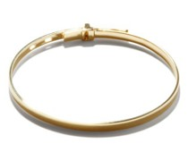 Tailor 14kt Gold-plated Sterling Silver Cuff