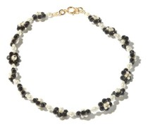 Ross Bead And Faux-pearl Choker Necklace