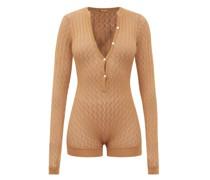 Helen Pointelle-knitted Bodysuit