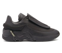 Antei Exaggerated-sole Leather Trainers