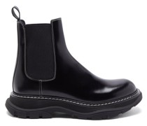 Hybrid Raised-sole Leather Chelsea Boots